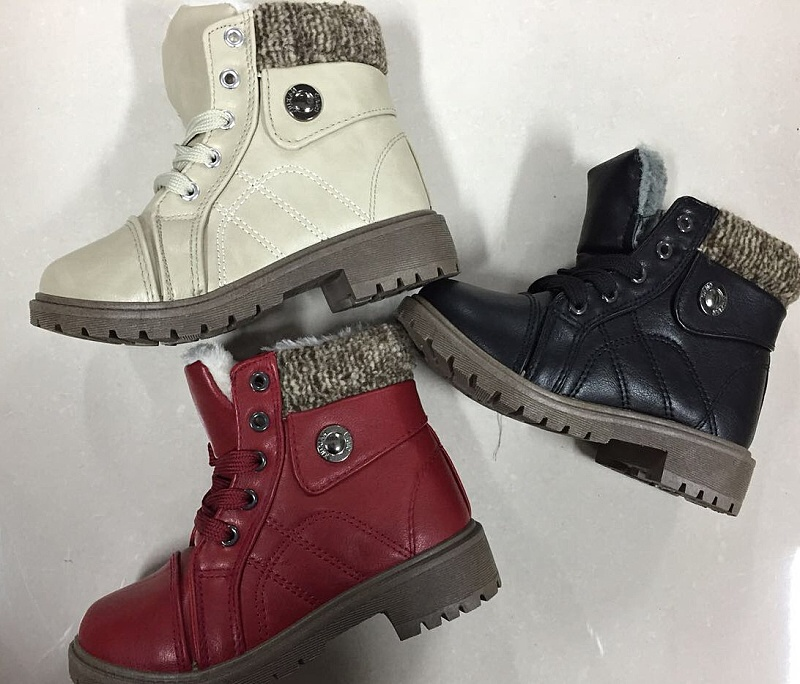03ce0e7a0a4 Dívčí zimní kotníčková obuv (30-35)
