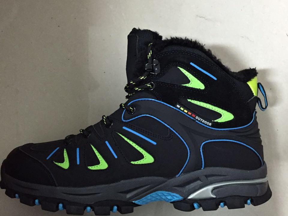 Pánská zimní outdoorová obuv LISTAR (41-46) modrá zelená  eb35ce830e5