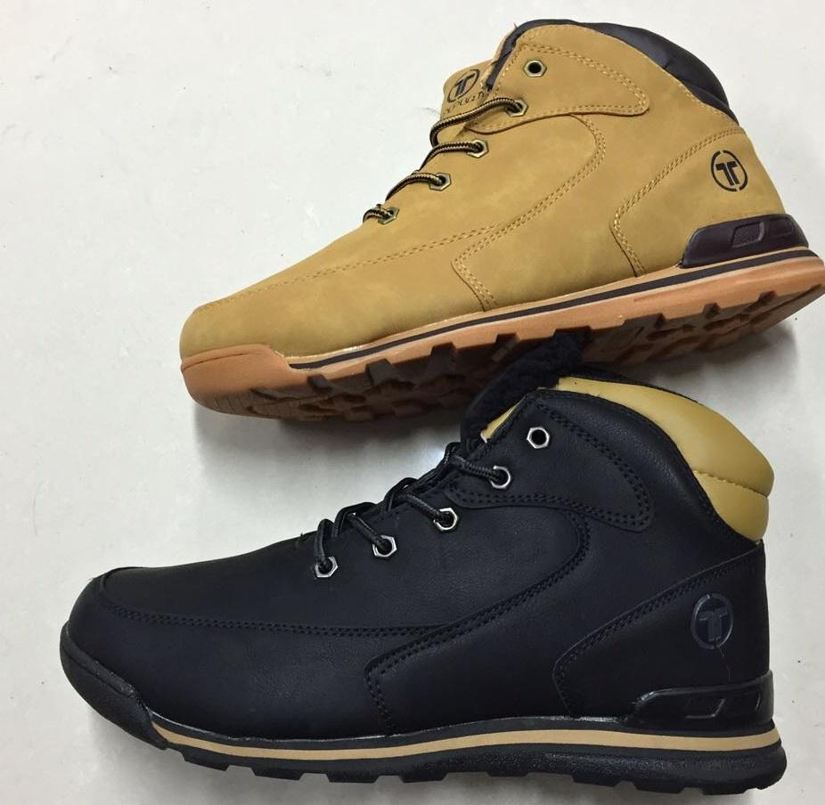 e70d1b75c0f Pánská zimní kotníčková obuv LISTAR (41-46) černá