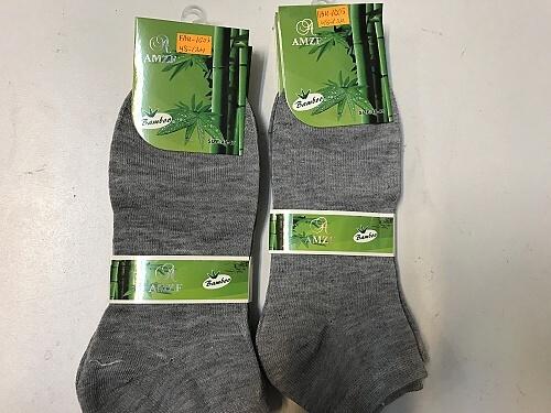 Pánské bambus. kotníčkové ponožky AMZF (42-47) empty